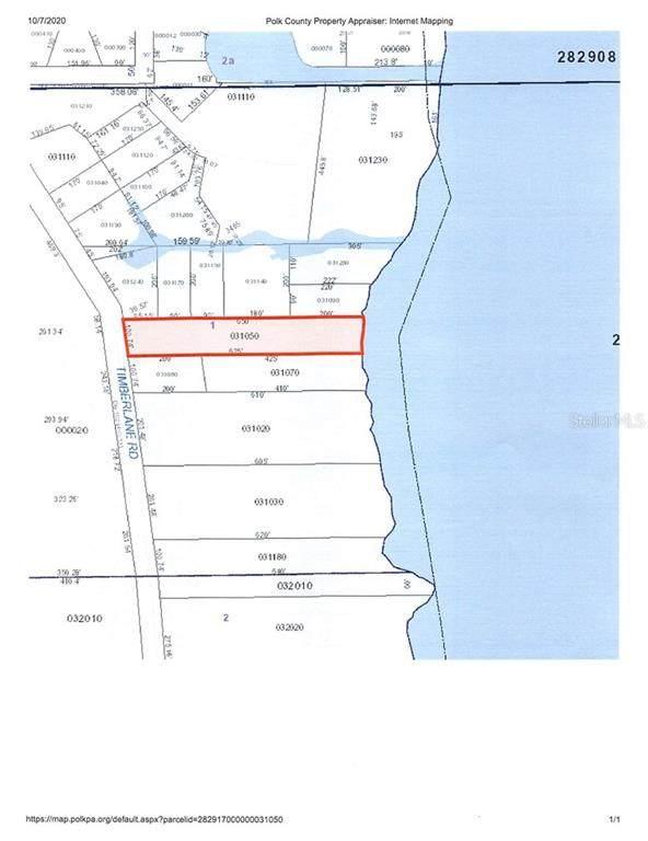 Timberlane Road, Lake Wales, FL 33898 (MLS #K4901070) :: Team Buky