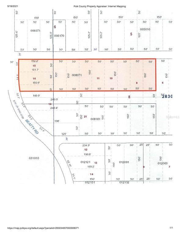 Beatty Road, Babson Park, FL 33827 (MLS #K4901372) :: Everlane Realty