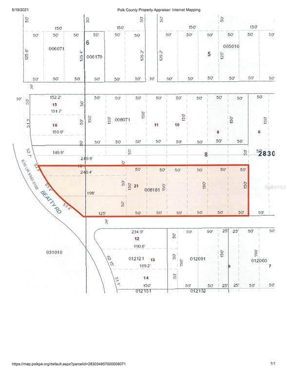 Beatty Road, Babson Park, FL 33827 (MLS #K4901373) :: Everlane Realty