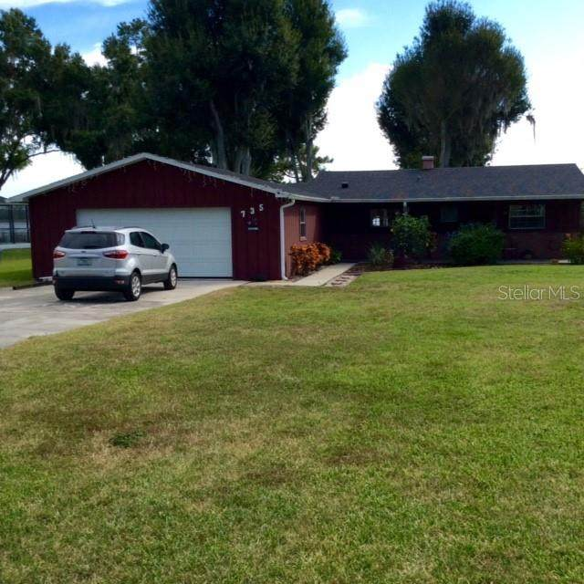 735 Lake Agnes Drive, Polk City, FL 33868 (MLS #L4926158) :: Stellar Home Sales