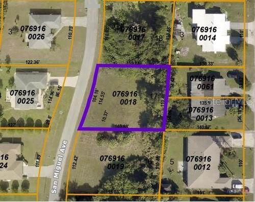 San Miguel Lot 17 Avenue, North Port, FL 34287 (#N6116718) :: Caine Luxury Team