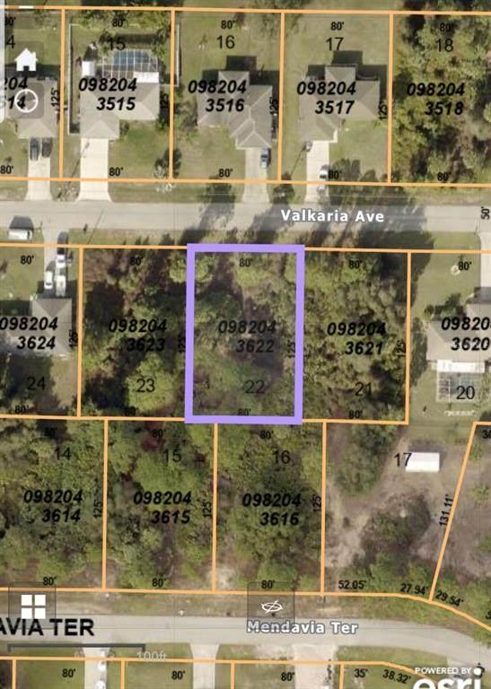 Valkaria Avenue, North Port, FL 34286 (MLS #N6116807) :: Globalwide Realty