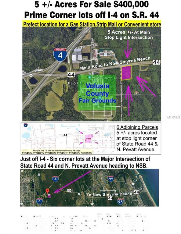 E State Rd 44, Deland, FL 32724 (MLS #O5725741) :: Godwin Realty Group