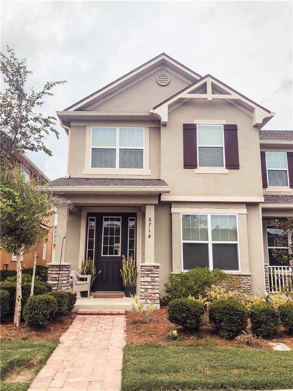 8714 Dufferin Lane, Orlando, FL 32832 (MLS #O5808429) :: The Light Team
