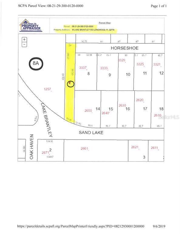 Address Not Published, Longwood, FL 32779 (MLS #O5811188) :: Gate Arty & the Group - Keller Williams Realty Smart