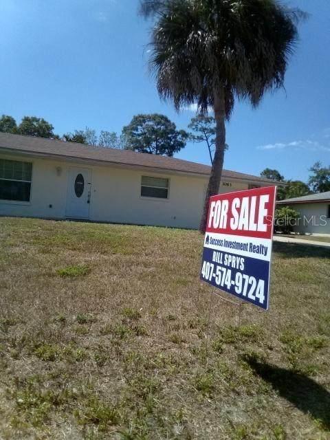 3063 Pellam Boulevard, Port Charlotte, FL 33948 (MLS #O5854892) :: The Heidi Schrock Team