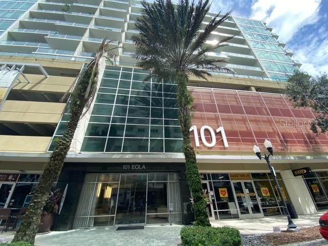 101 S Eola Drive #607, Orlando, FL 32801 (MLS #O5894551) :: Premium Properties Real Estate Services