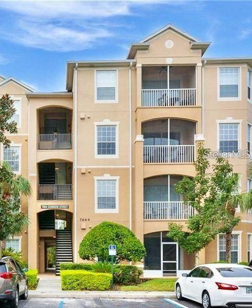 7664 Comrow Street #402, Kissimmee, FL 34747 (MLS #O5895941) :: Keller Williams on the Water/Sarasota