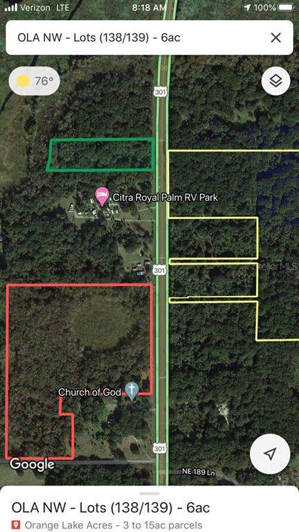 19500 N Us Highway 301, Citra, FL 32113 (MLS #O5936350) :: Realty Executives Mid Florida