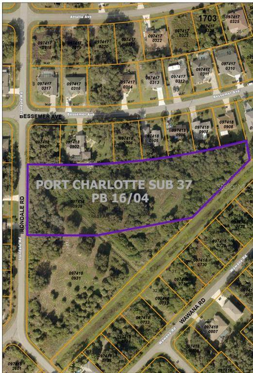 Irondale Road, North Port, FL 34287 (MLS #O5937995) :: The Paxton Group