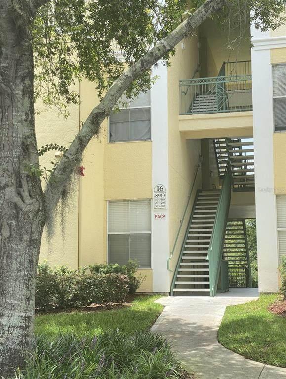 8910 Legacy Court #105, Kissimmee, FL 34747 (MLS #O5956216) :: Sarasota Home Specialists