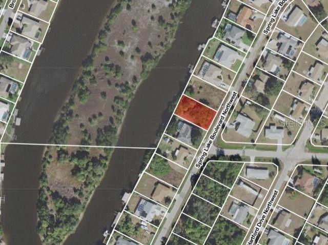 654 Spring Lake Boulevard NW, Port Charlotte, FL 33952 (MLS #O5960563) :: Rabell Realty Group