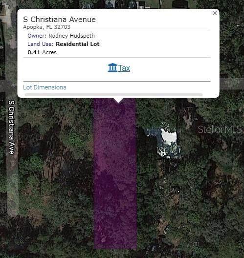S Christiana Avenue, Apopka, FL 32703 (MLS #O5982417) :: Orlando Homes Finder Team