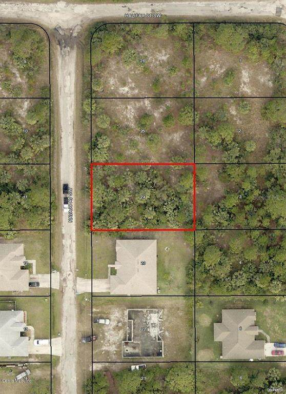 3317 SW Navajo Avenue, Palm Bay, FL 32908 (MLS #OM544544) :: The Light Team