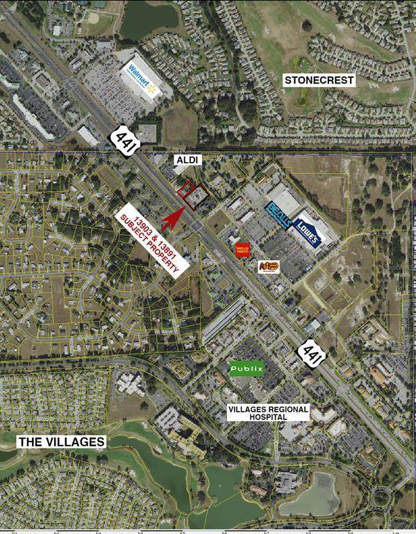 13891 Us 441, Lady Lake, FL 32159 (MLS #OM554698) :: Better Homes & Gardens Real Estate Thomas Group