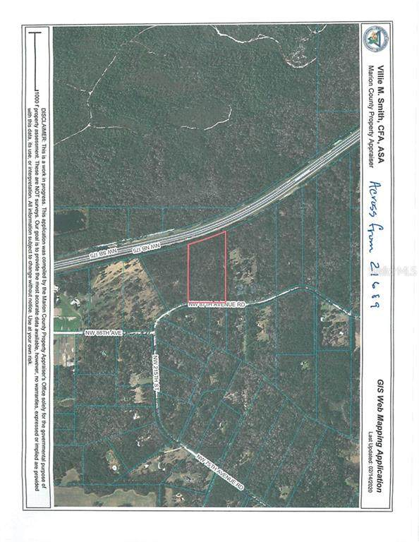 Nw 87Th Ave Rd, Micanopy, FL 32667 (MLS #OM600783) :: EXIT King Realty