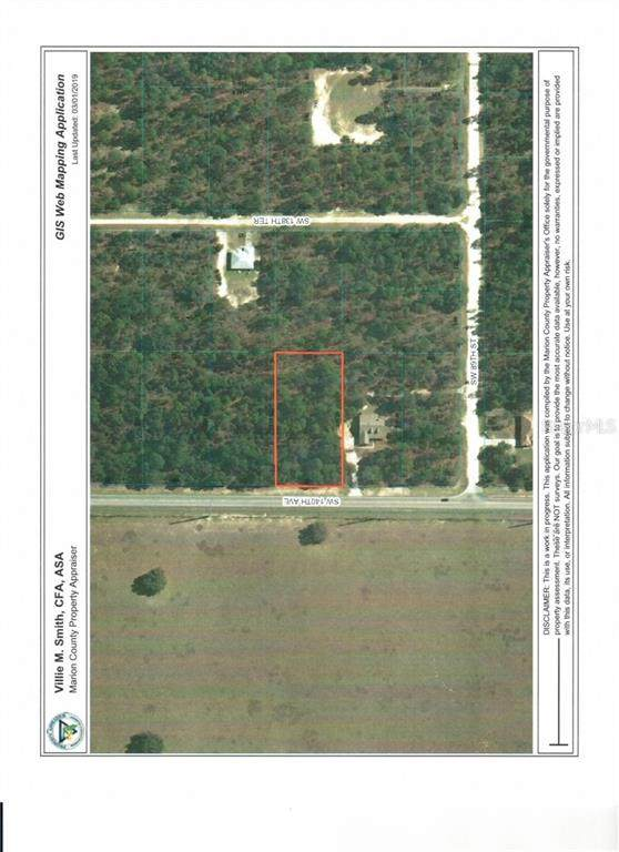 00 SW 140 Avenue, Dunnellon, FL 34432 (MLS #OM603898) :: Premium Properties Real Estate Services