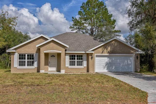 580 Fisher Road, Ocklawaha, FL 32179 (MLS #OM612970) :: Sarasota Gulf Coast Realtors