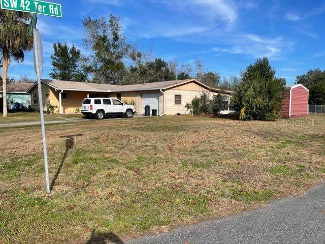 4391 SW 145TH PLACE RD, Ocala, FL 34473 (MLS #OM613909) :: Baird Realty Group