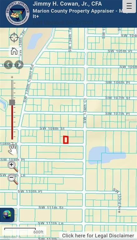 Sw 108Th Lane, Dunnellon, FL 34432 (MLS #OM619767) :: Aybar Homes