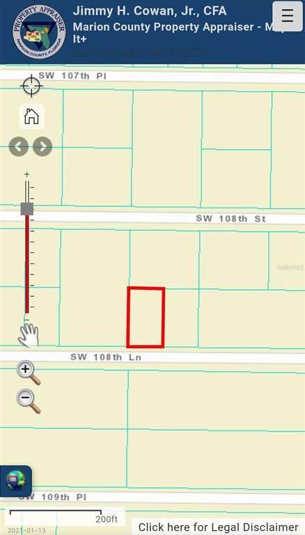 Sw 108Th Lane, Dunnellon, FL 34432 (MLS #OM619768) :: Aybar Homes