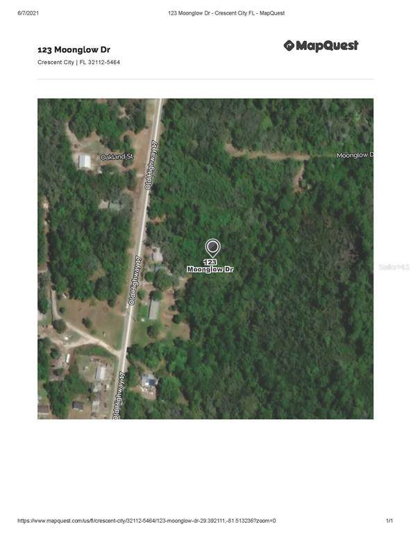123 Moonglow Drive, Crescent City, FL 32112 (MLS #OM621580) :: Pristine Properties