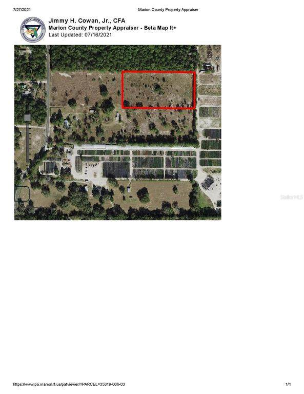110TH Avenue, Dunnellon, FL 34432 (MLS #OM624446) :: Rabell Realty Group