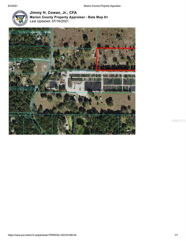 TBD  Lot 4 110TH Avenue, Dunnellon, FL 34432 (MLS #OM624856) :: Cartwright Realty