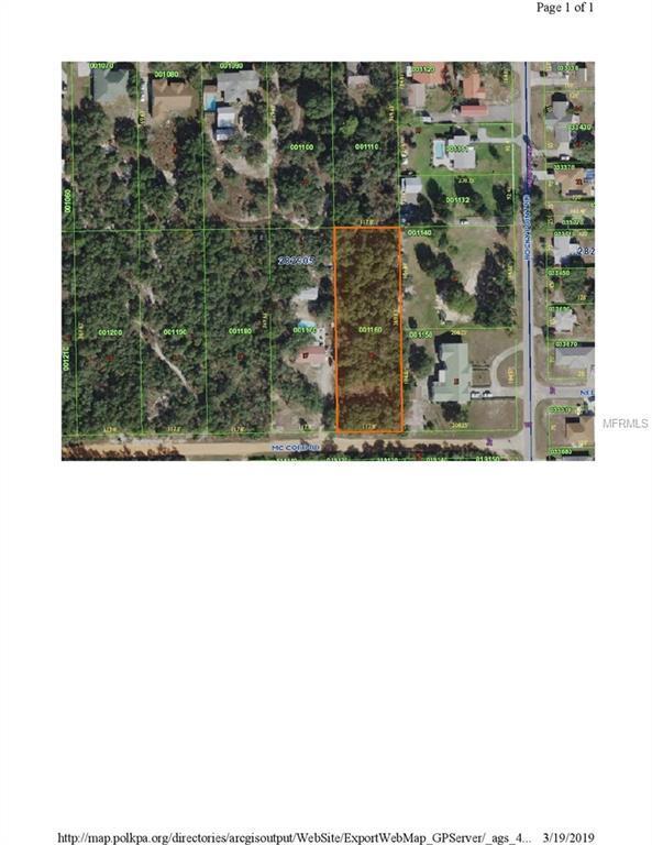 0 Mccord Road #16, Lake Wales, FL 33898 (MLS #P4905198) :: The Duncan Duo Team