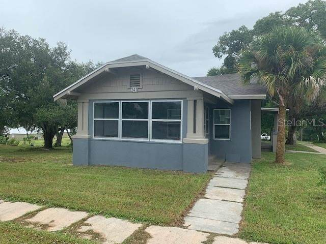 241 S 14TH Street, Haines City, FL 33844 (MLS #P4917212) :: The Curlings Group