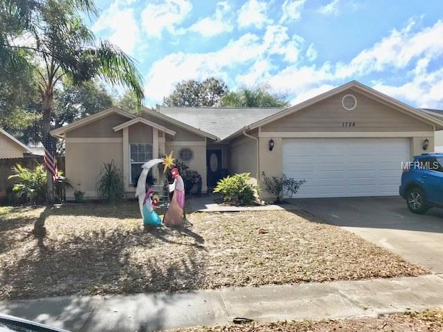 1724 Spinning Wheel Drive, Lutz, FL 33559 (MLS #T2925194) :: The Duncan Duo Team