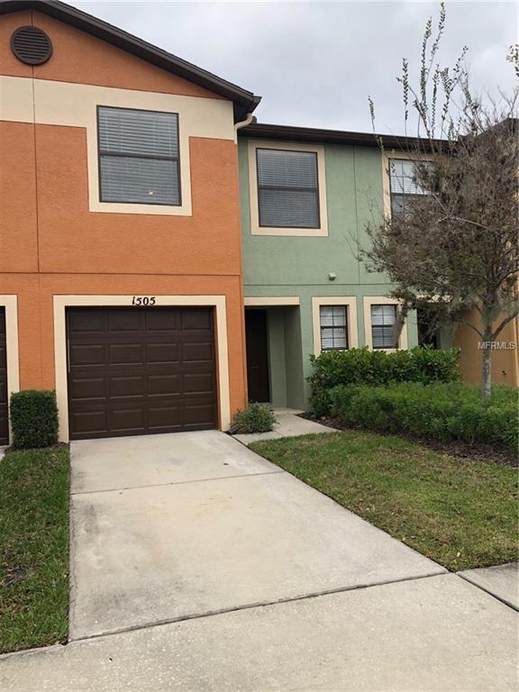 1505 Water Terrace Lane, Brandon, FL 33511 (MLS #T3152617) :: Team Bohannon Keller Williams, Tampa Properties