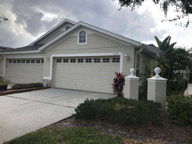 3429 Chapel Creek Circle, Wesley Chapel, FL 33544 (MLS #T3155070) :: Team Bohannon Keller Williams, Tampa Properties