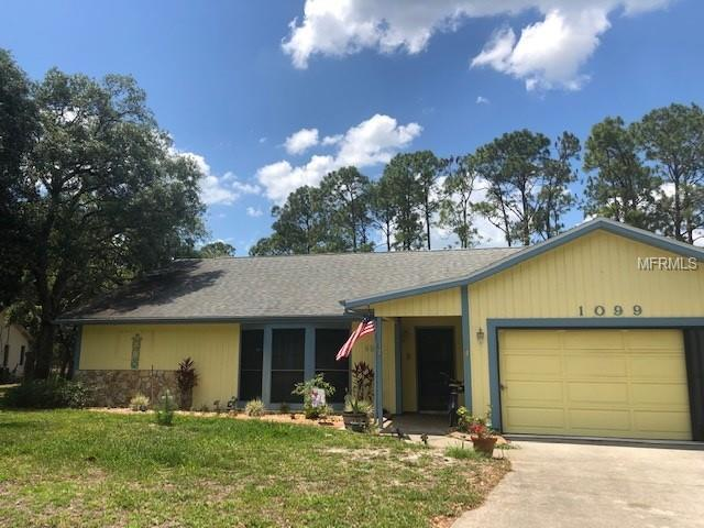 1099 Eden Circle, Spring Hill, FL 34606 (MLS #T3175493) :: Team Bohannon Keller Williams, Tampa Properties