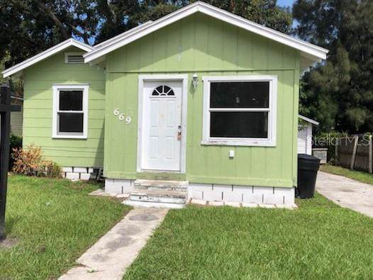 669 Newton Avenue S, St Petersburg, FL 33701 (MLS #T3199845) :: Griffin Group