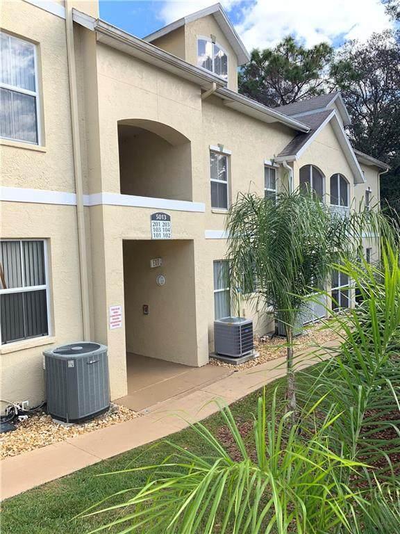 5013 Sunridge Palms Drive #104, Tampa, FL 33617 (MLS #T3226768) :: Cartwright Realty