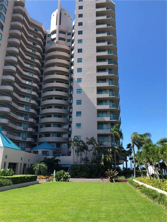 1520 Gulf Boulevard #602, Clearwater, FL 33767 (MLS #T3269443) :: The Light Team
