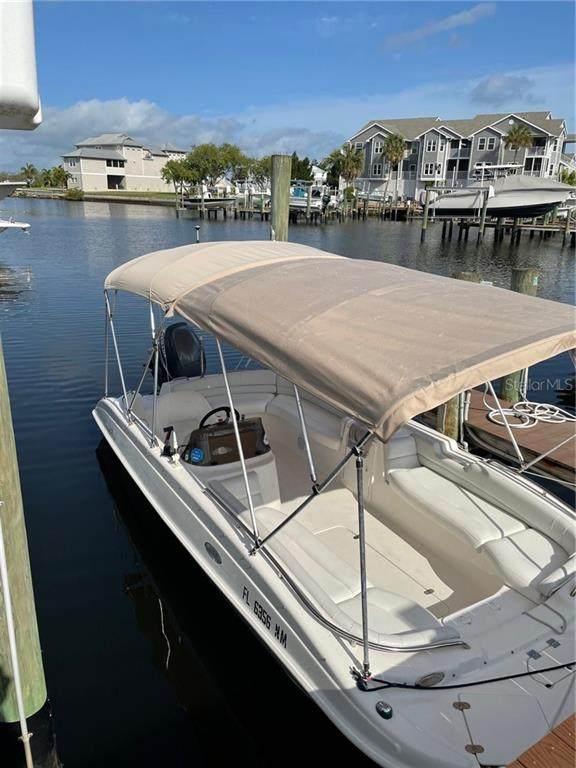 5577 Sea Forest Drive 10 Slip, New Port Richey, FL 34652 (MLS #T3301578) :: RE/MAX Marketing Specialists