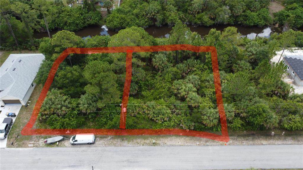 (DOUBLE Lot on CANAL Everglades Terrace - Photo 1