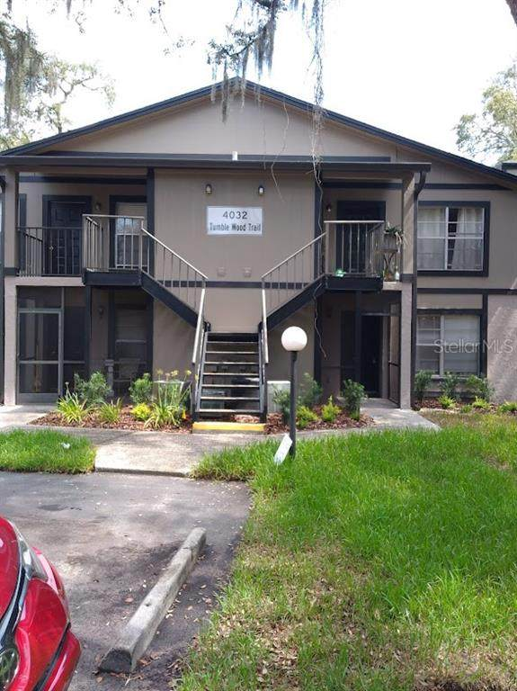 4032 Tumble Wood Trail #101, Tampa, FL 33613 (MLS #T3320111) :: The Hustle and Heart Group