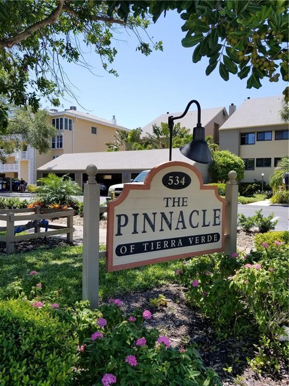534 S Pinellas Bayway S #101, Tierra Verde, FL 33715 (MLS #U8001203) :: The Duncan Duo Team