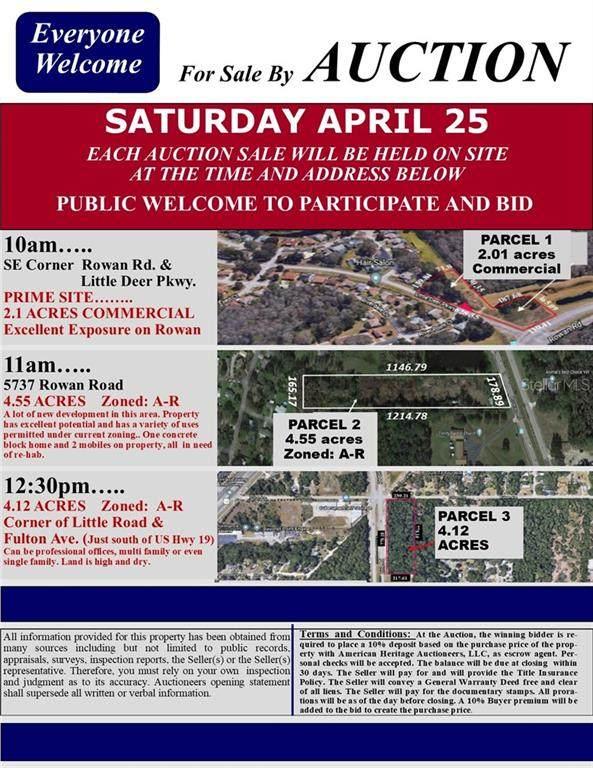 Rowan Road, New Port Richey, FL 34653 (MLS #U8072902) :: Team Bohannon Keller Williams, Tampa Properties