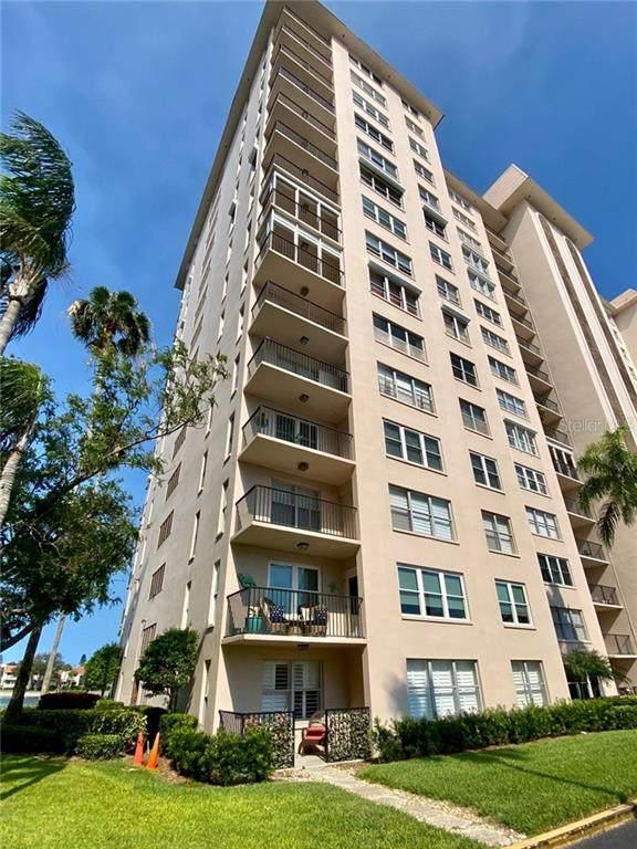 5220 Brittany Drive S #1003, St Petersburg, FL 33715 (MLS #U8084381) :: Homepride Realty Services