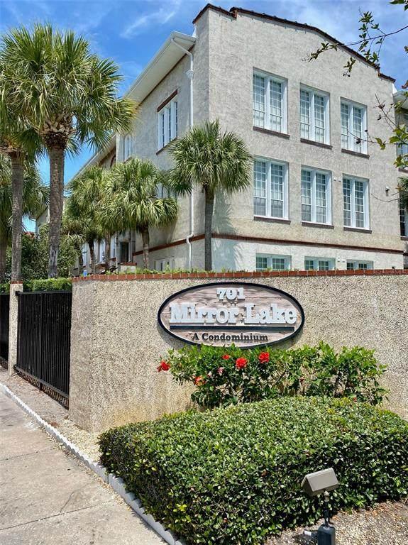 701 Mirror Lake Drive N #119, St Petersburg, FL 33701 (MLS #U8124705) :: Charles Rutenberg Realty