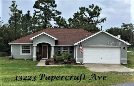 13223 Papercraft Avenue, Weeki Wachee, FL 34614 (MLS #U8131775) :: Carmena and Associates Realty Group