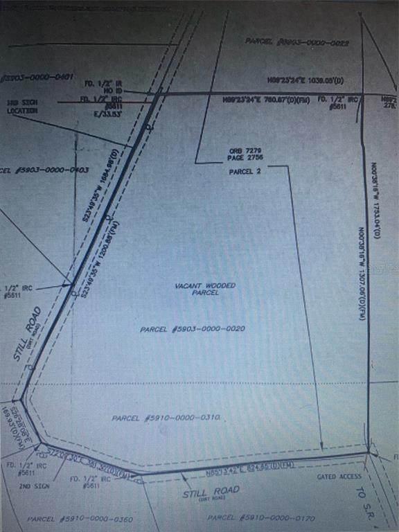 0 Still Road, Pierson, FL 32180 (MLS #V4921539) :: Everlane Realty