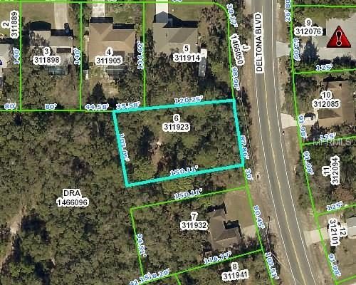 0 Deltona, Spring Hill, FL 34606 (MLS #W7639058) :: Griffin Group