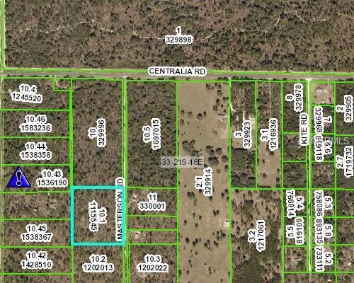Masterson Road, Weeki Wachee, FL 34614 (MLS #W7809826) :: Premium Properties Real Estate Services