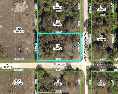00000 Canyon Swallow Road, Weeki Wachee, FL 34614 (MLS #W7817267) :: The Brenda Wade Team