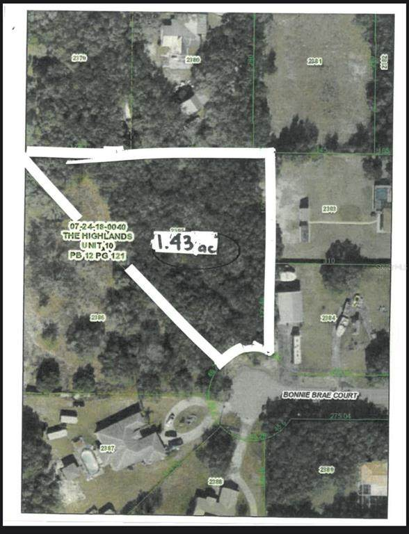 0 Bonnie Brae Court, Spring Hill, FL 34610 (MLS #W7835442) :: Zarghami Group